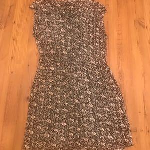 Nostalgia printed dress